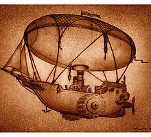 The Indefatigable Investigations Of The Dirigible Dynamo Minerva by CrankInstitute