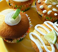 Lemon Lime Cupcakes by Rachel Valley
