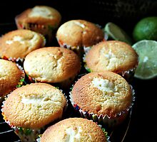 cupcakes before the icing by Rachel Valley