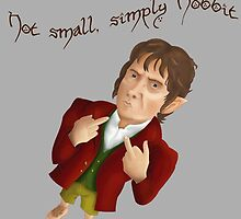 Not small, simply hobbit by Enopee