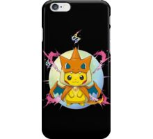 Pikachu Mega Charizard Y Costume iPhone Case/Skin