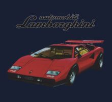 Lamborghini Countach Retro Kids Clothes