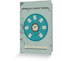 Chaos Theory Greeting Card