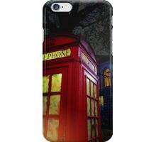 London Tardis iPhone Case/Skin