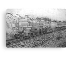 The Last of the British Rail Steam Locomotives - all products Canvas Print