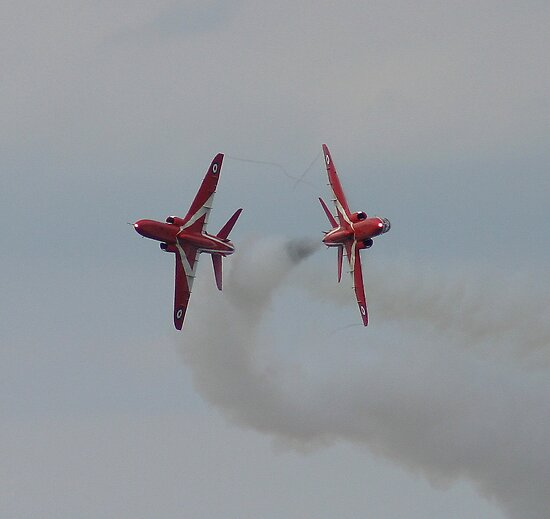 Red arrows 2 by Stuart Brown