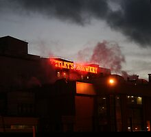 tetley at night by gazzf1