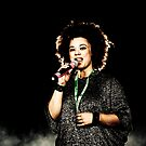 Connie Mitchell - Sneaky Sound System by Jonathan Yeo