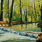 L.afremov   SPRING STREAM by leonid afremov