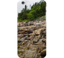 Low Tide - Walking on the Bottom of Saint Lawrence River iPhone Case/Skin