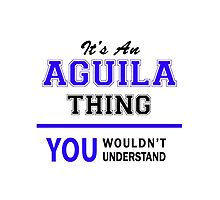 It's an AGUILA thing, you wouldn't understand !! by allnames