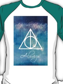 Harry Potter Deathly Hallows Always T-Shirt
