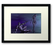 Mercury Pleads For Forgiveness Framed Print