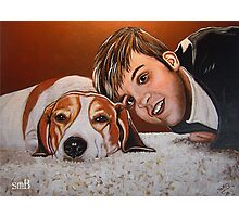 My Best Friend Forever Photographic Print