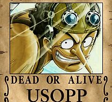 Wanted ! Usopp - One Piece by Amyne