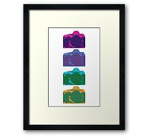 Point and Shoot  Framed Print