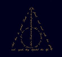 Deathly Hallows three brothers story by Jarriet