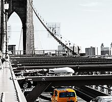 Brooklyn Bridge Cab by sophsoph90