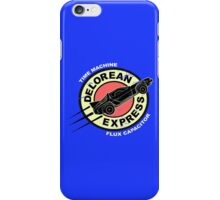 Delorean Express iPhone Case/Skin