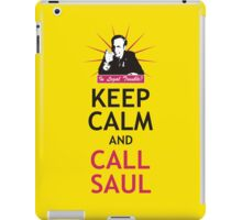 In Legal Trouble? Keep Calm and Call Saul! iPad Case/Skin