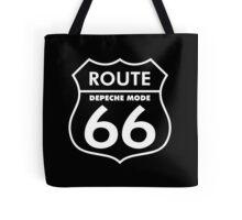 Depeche Mode : Route 66 - White - Tote Bag