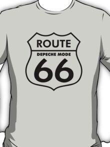 Depeche Mode : Route 66 - Black - T-Shirt
