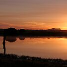 Zoutpan Sunrise by Chris Coetzee