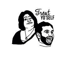 """Treat Yo'Self"" Parks & Recreation Merchandise by Mason Northcutt"