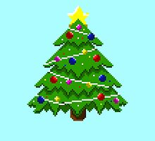 Pixel Christmas Tree by Kelsey G