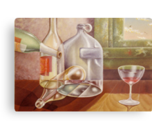 After the party Metal Print