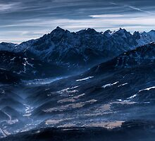 Blue Atmosphere by Stefan Trenker