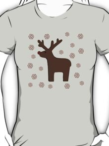 Christmas deer! grey T-Shirt