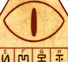 Bill Cipher Decrypt Symbols Sticker
