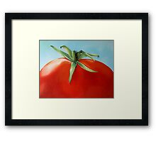 big tomato Framed Print