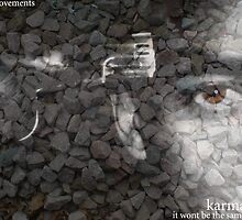 hard times by KARMA TEES  karma view photography