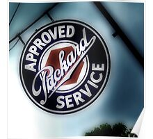 packard service, route 66, afton, oklahoma Poster