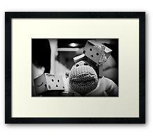 Hello Monkey! Framed Print