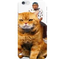 Tyler, the Creator riding cat iPhone Case/Skin