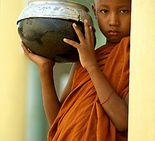 Young Monk by jeaston