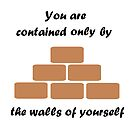 The Walls Of Yourself by CreativeEm