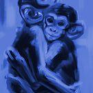 Monkey love T17 by Go van Kampen