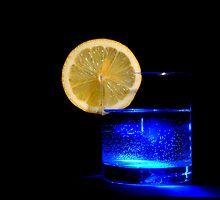 blue glas by Rotschopf