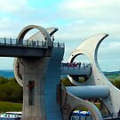 The Falkirk Wheel by Tom Gomez