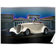 1933 Ford Cabriolet II Poster