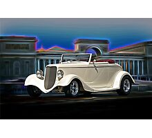 1933 Ford Cabriolet II Photographic Print