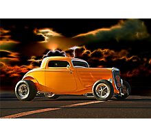1933 Ford HiBoy Coupe II Photographic Print