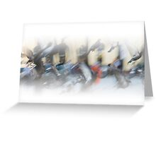Watercolour Cityscape Greeting Card