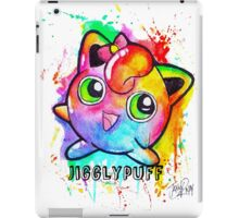 Cute Jigglypuff Watercolor Tshirts + More! iPad Case/Skin