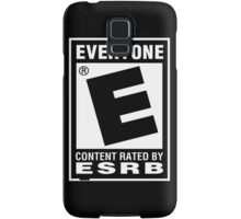 Content Rated by ESRB Samsung Galaxy Case/Skin