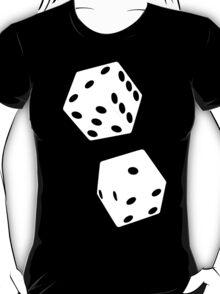 TUMBLING DICE-2 WHITE T-Shirt
